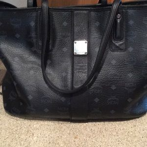 Handbags - Mcm tote with stain on the inside bottom
